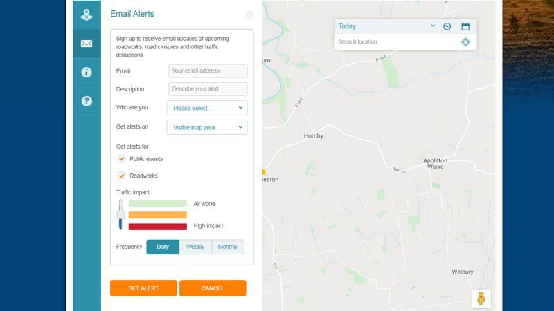 Did you know you can sign up to roadwork email alerts to find out about roadworks in your area?  It's easy to sign up online ⬇️