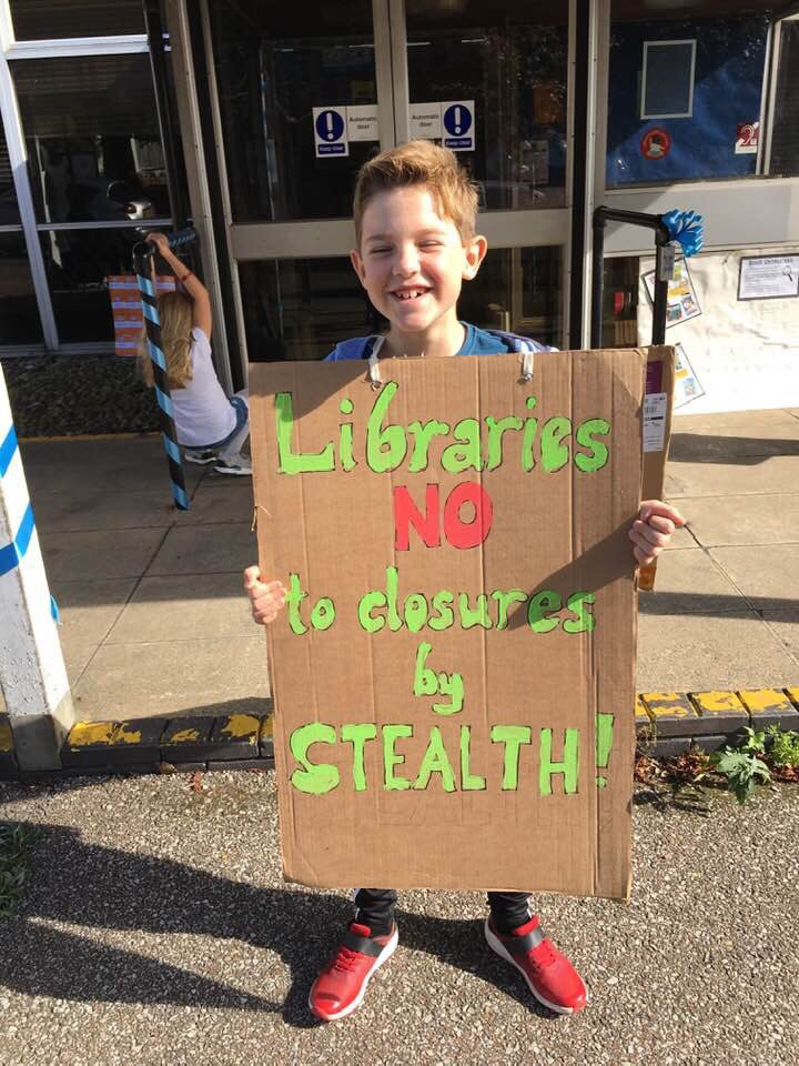 The campaign grows in strength. We will support and protect our library. NO to takeovers. #wivenhoe <br>http://pic.twitter.com/AZfyGEkRDF