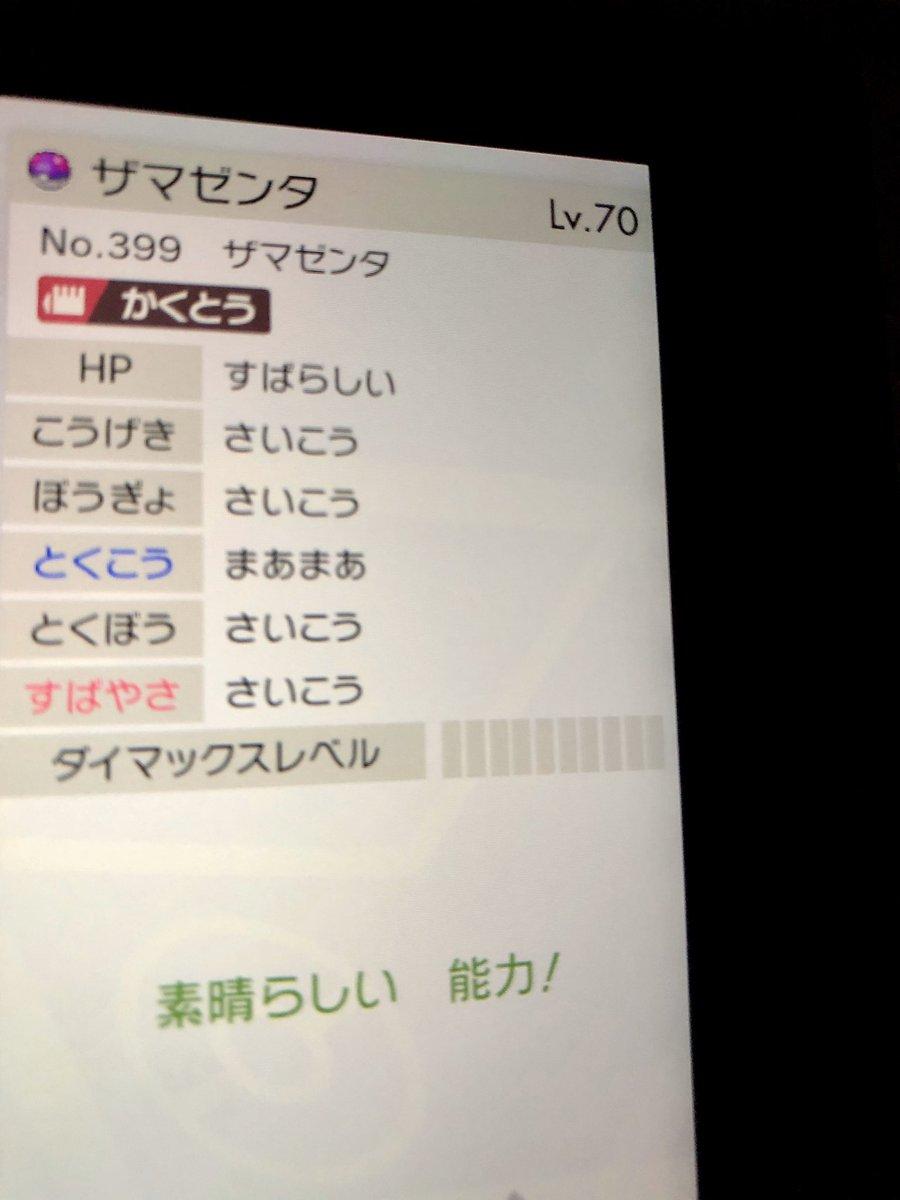 ポケモン ザマゼンタ 厳選