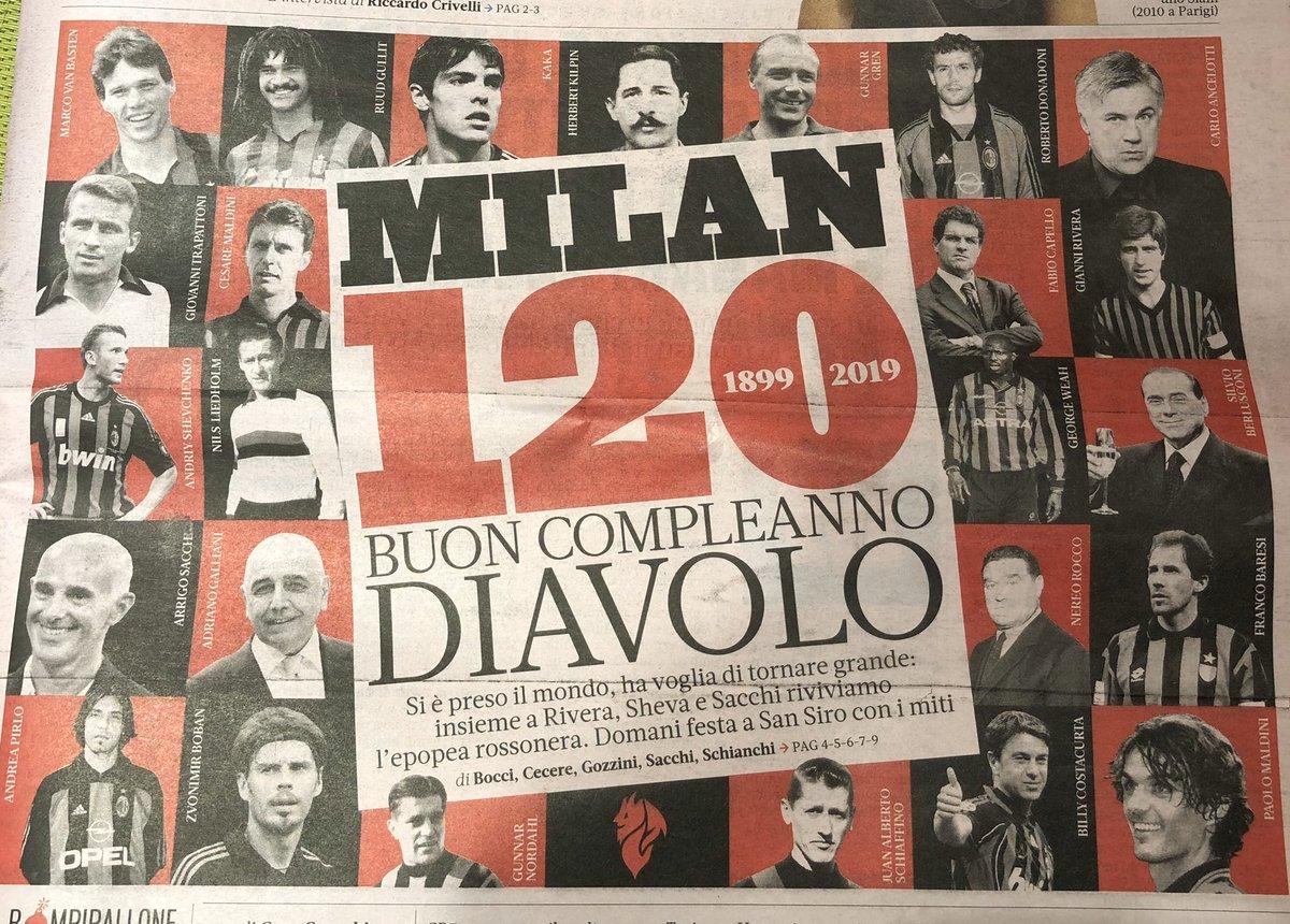 Piccolo sondaggio. Chi è il vostro rossonero preferito di questi primi 120 anni di AC Milan?  #120Milan #MilanoSiamoNoi