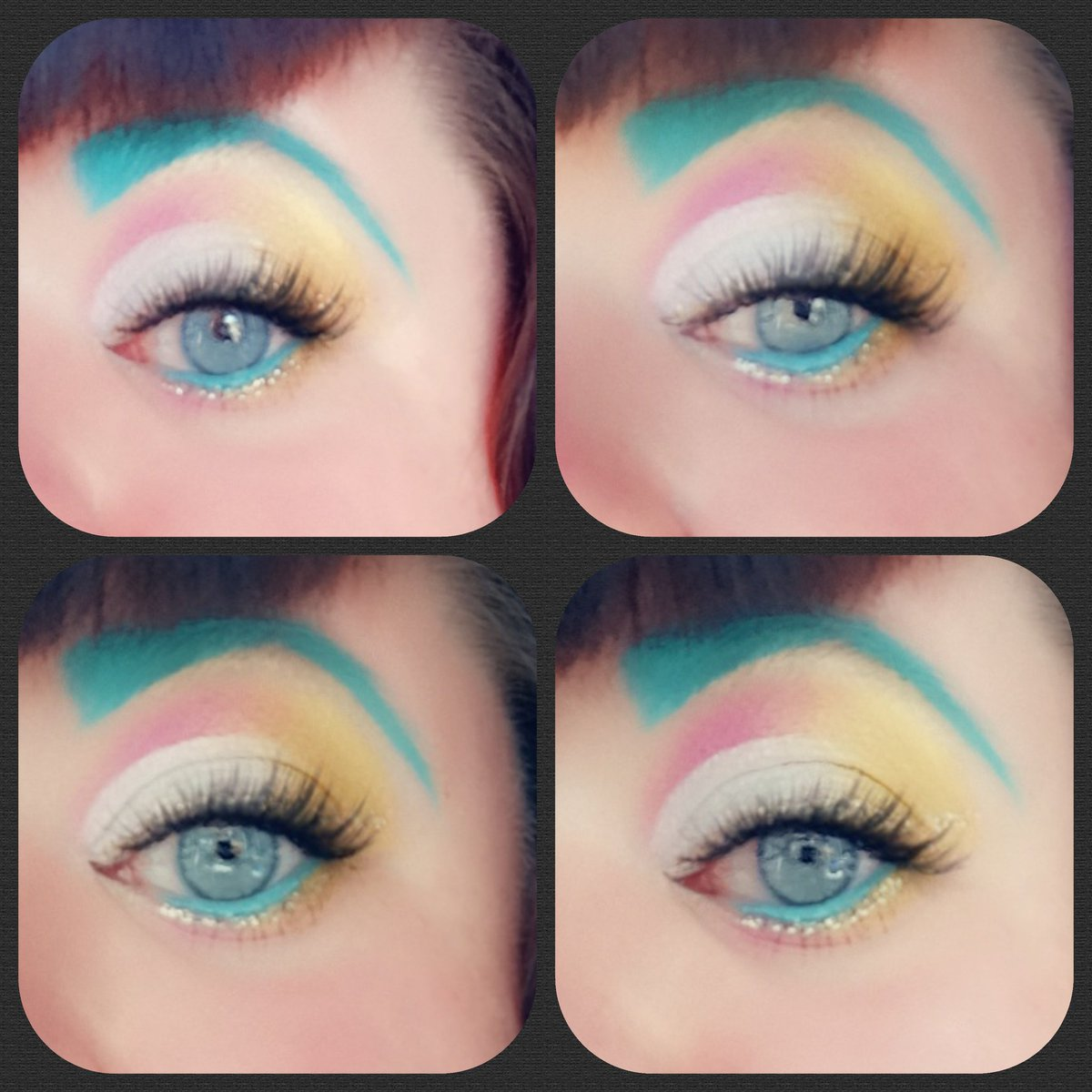 Pink, silver and golds today! #jeffreestar #JeffreeStarCosmetics #jeffreestarprlist #makeup #makeupartist #makeupbyme #makeupaddict #cutcrease @JeffreeStarpic.twitter.com/YKdPMkA4SD