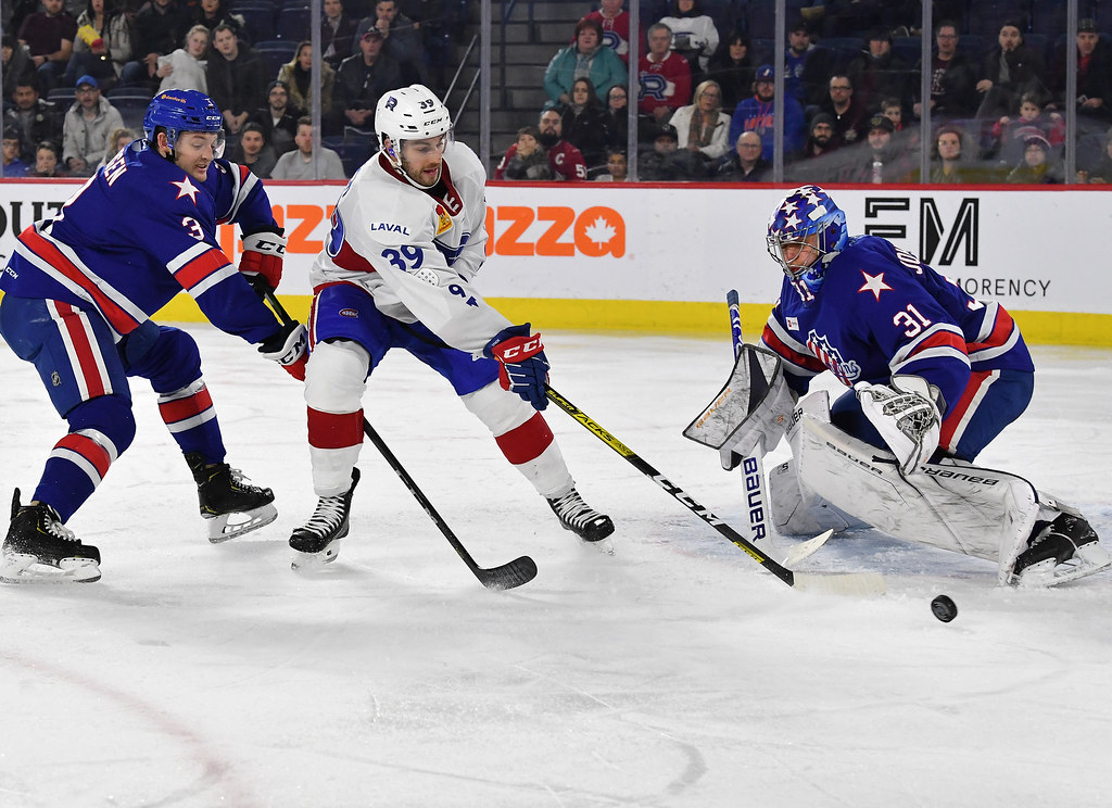 Amerks fight off Rocket for 3-2 win in Laval