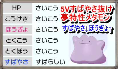 レイド ポケモン 剣盾 メタモン