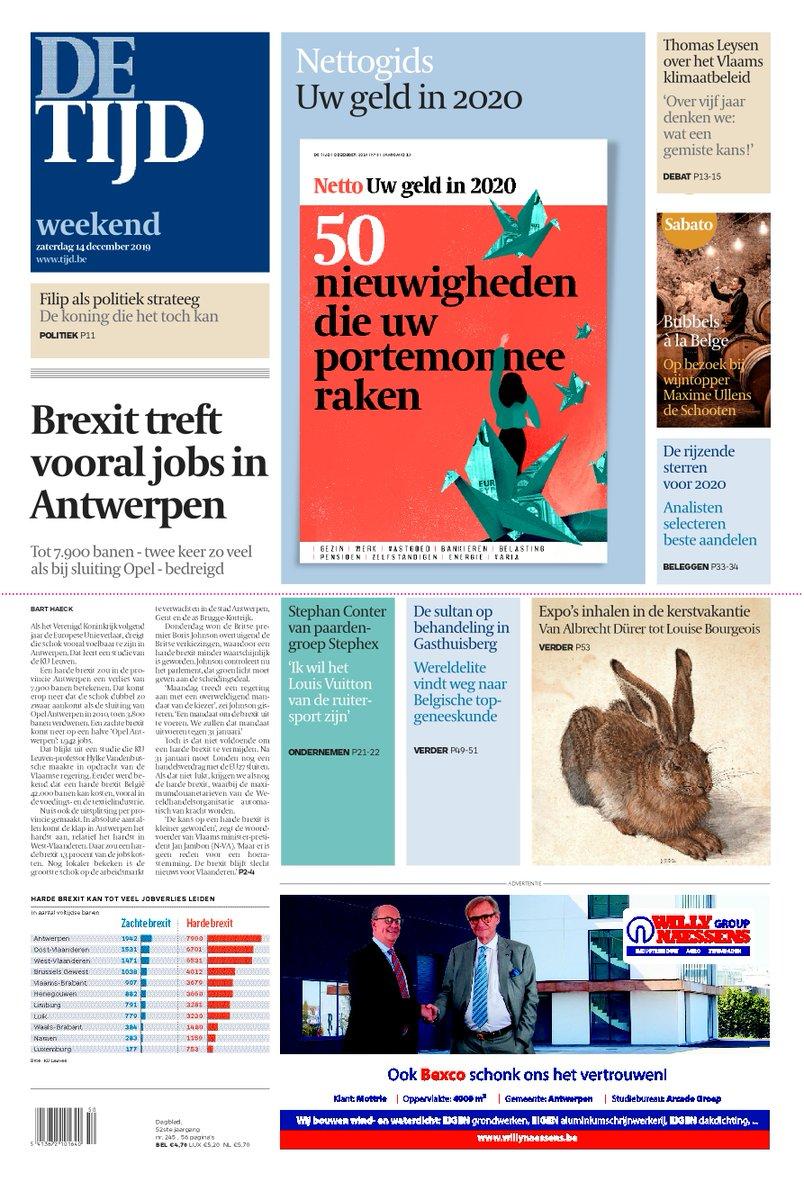 test Twitter Media - Vandaag op de voorpagina van De Tijd:  Brexit treft vooral jobs in Antwerpen | Thomas Leysen over het Vlaams klimaatbeleid: 'Over vijf jaar denken we: wat een gemiste kans!'  Lees de krant op uw smartphone of tablet: https://t.co/x779tlZeBc https://t.co/C7fTISZJZa