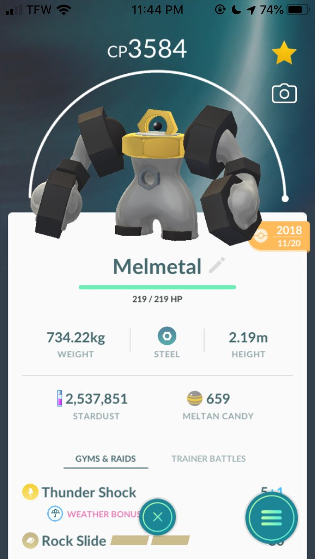 Maxed these 2 out. Can't wait to use them in Team Go Rocket leader battles #PokémonGo <br>http://pic.twitter.com/0eTN9cNYn0