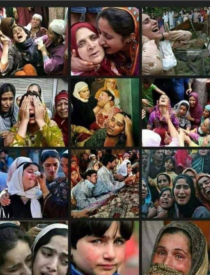 The condition of women is too miserable in kashmir  #بنت_حواکوتحفظ_دو
