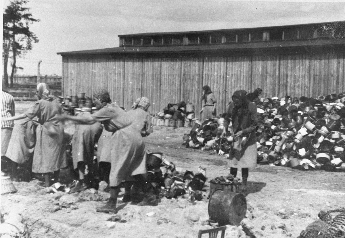 14 December 1943 | The construction of the BIIg sector of Auschwitz II-Birkenau (so-called Canada) was completed. It became the storage and sorting area for property robbed from victims of Auschwitz, mainly Jews deported for extermination. More: panorama.auschwitz.org/tour2,3642,en.…