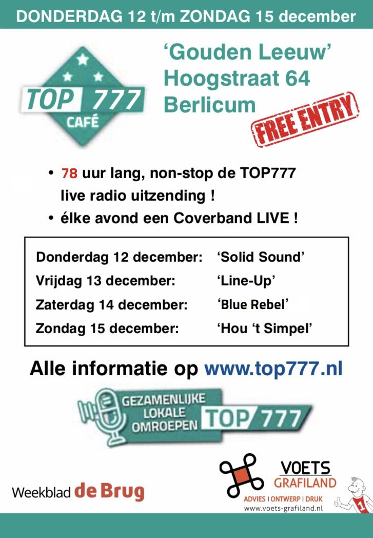 test Twitter Media - @clement_bart Gisterenavond volle bak in het #TOP777 Café, zorg dat je niets mist en kom ook naar de Hoogstraat 64 in Berlicum! En uiteraard de hele #TOP777 op je #radio, #smartphone, #tv, #tablet ! 📻7️⃣7️⃣7️⃣📻 Check https://t.co/57SVGTjmpj https://t.co/tGAAfHoU9t