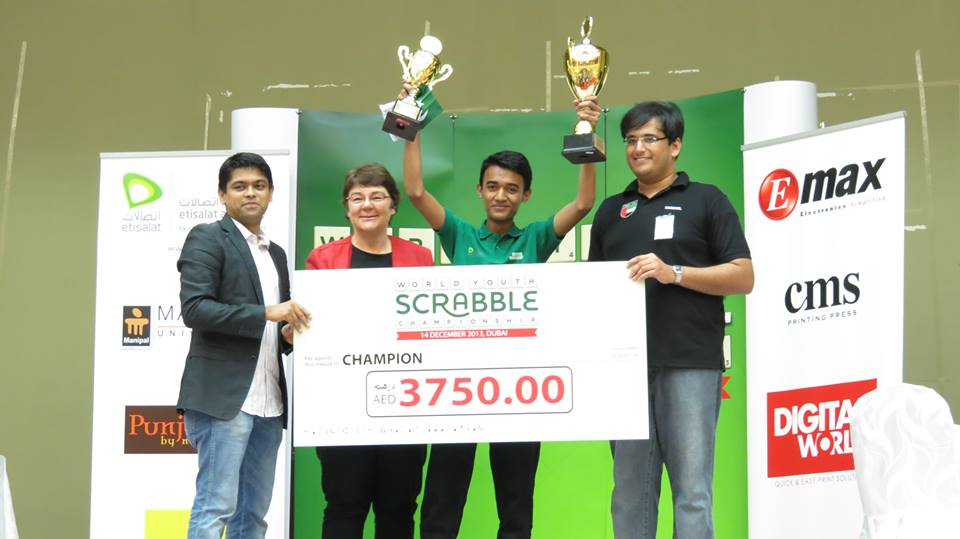 6 years ago on this day, I won the World Youth Scrabble Championship (U18 WC) held at the @EtisalatAcad @etisalat in Dubai, UAE, and became the first Pakistani and South Asian to win this title.  #throwback #scrabble #pakistanscrabble #worldscrabble #Pakistani #moizbaig #karachi https://t.co/LyPcQZXL2p