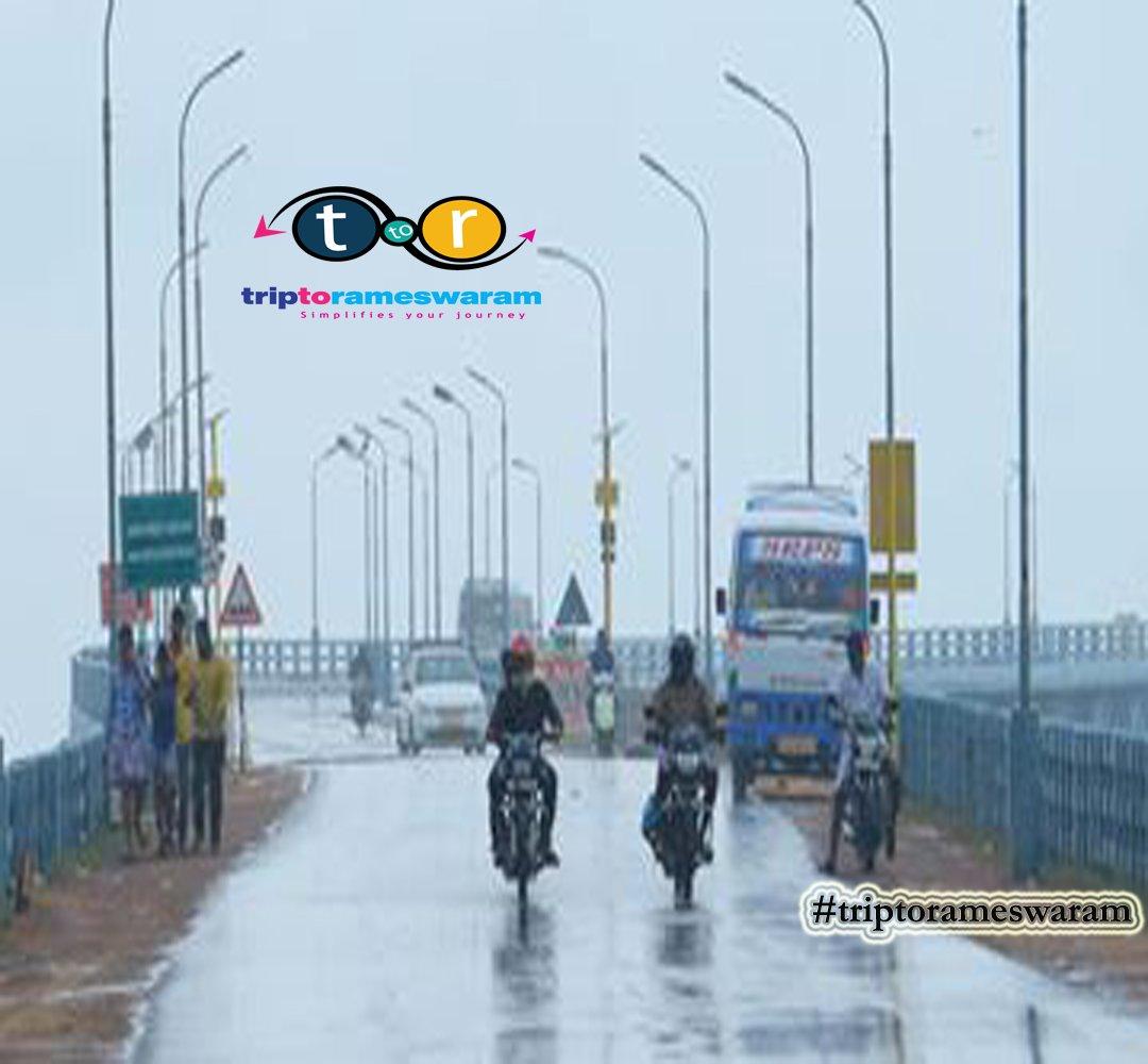 #pamban you look Good in every Weather!!! #triptorameswaram #rameswaram #onedaytrip #tamilnadutourism #IncredibleIndia #blissfulday #BetterTogether #triptopamban #Travelgoals #ExpatExploreTravel #picsoftheday #rainypamban #inspiredbynature #EnchantingTamilnadu #Southindiatrippic.twitter.com/rZ6D7F3VpG
