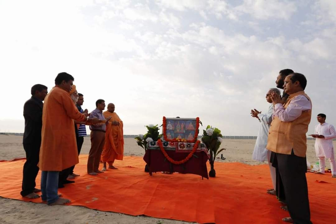 BAPS Hindu Mandir foundation work begins in Abu Dhabi