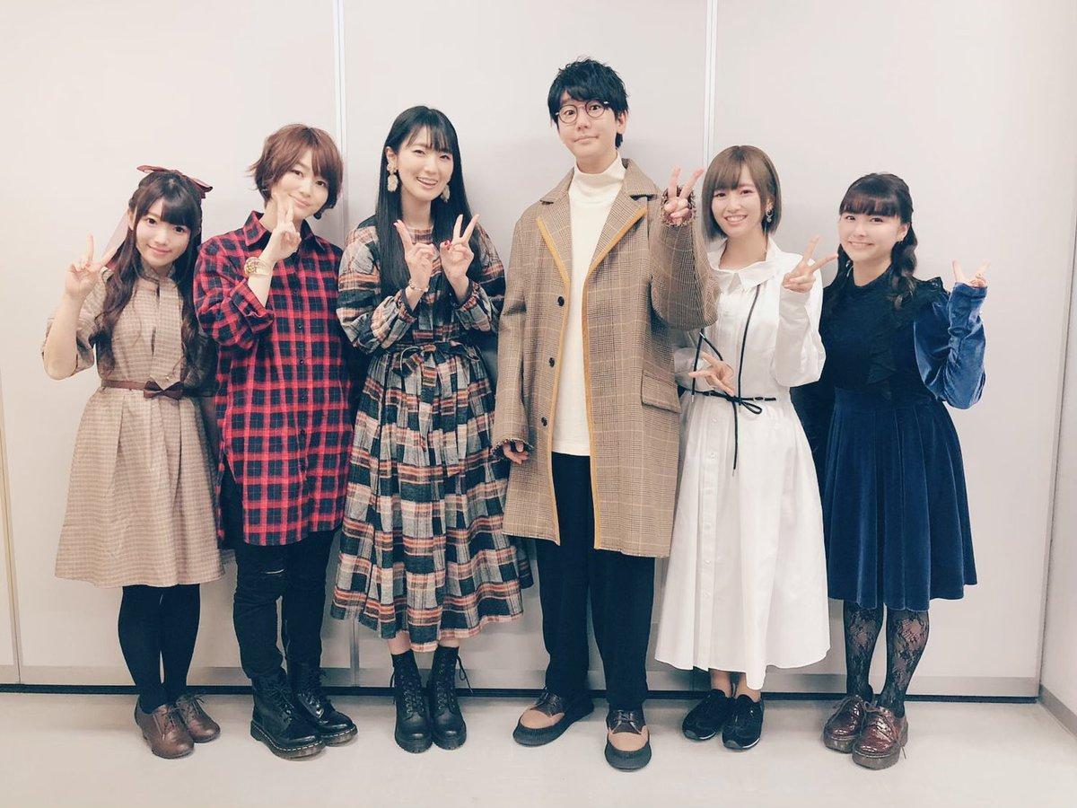 TVアニメ『ランウェイで笑って』先行上映会&トークショーお越し頂きありがとうございましたー!1月より放送開始です!よろしくお願いします😄