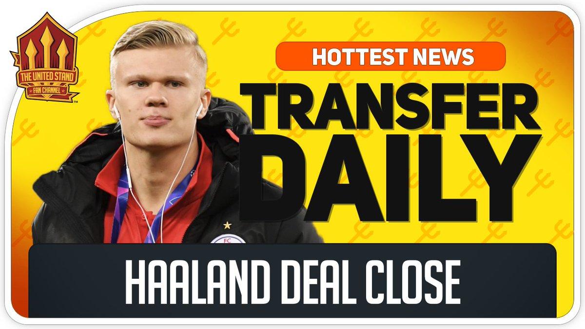 BREAKING! Haaland Deal Close https://buff.ly/2EhgZZq  #MUFC