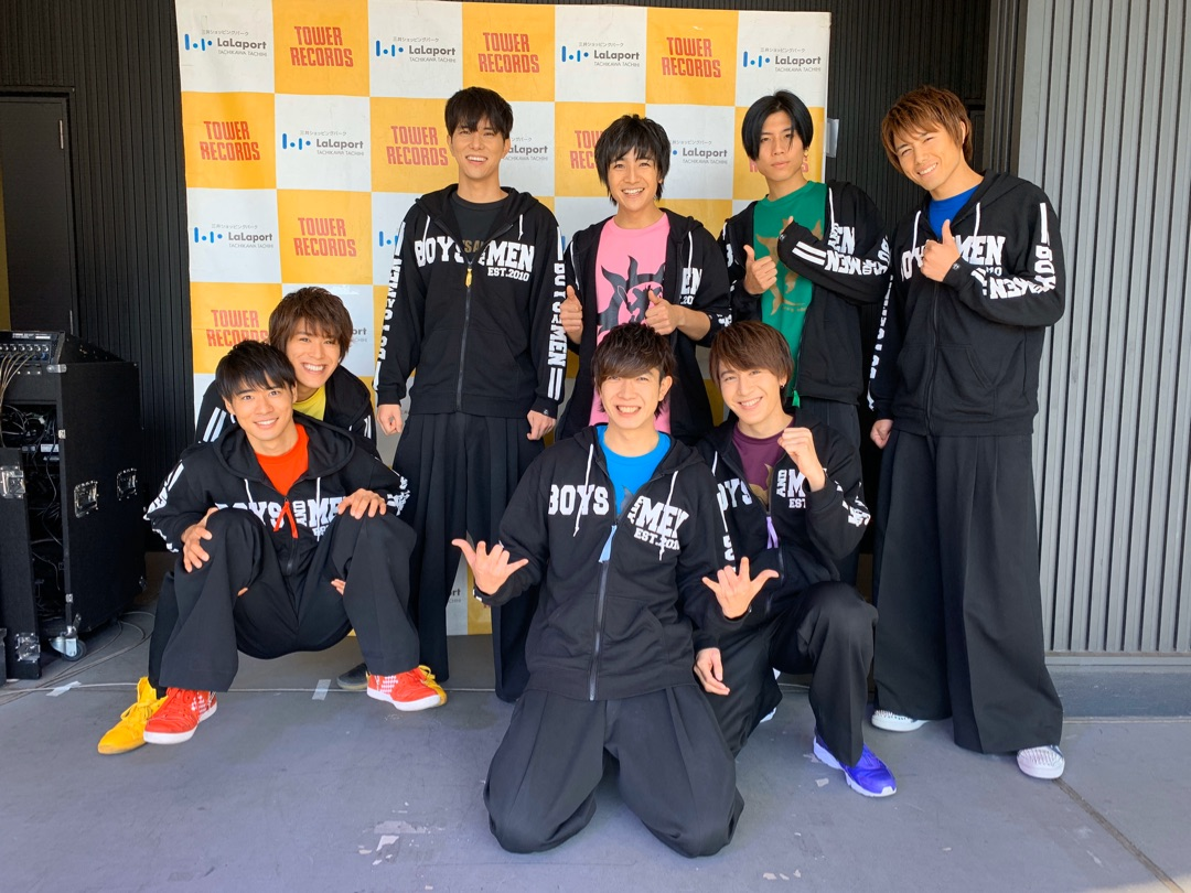 リリースイベント!:-)Y.Masato ー アメブロを更新しました#BOYSANDMEN