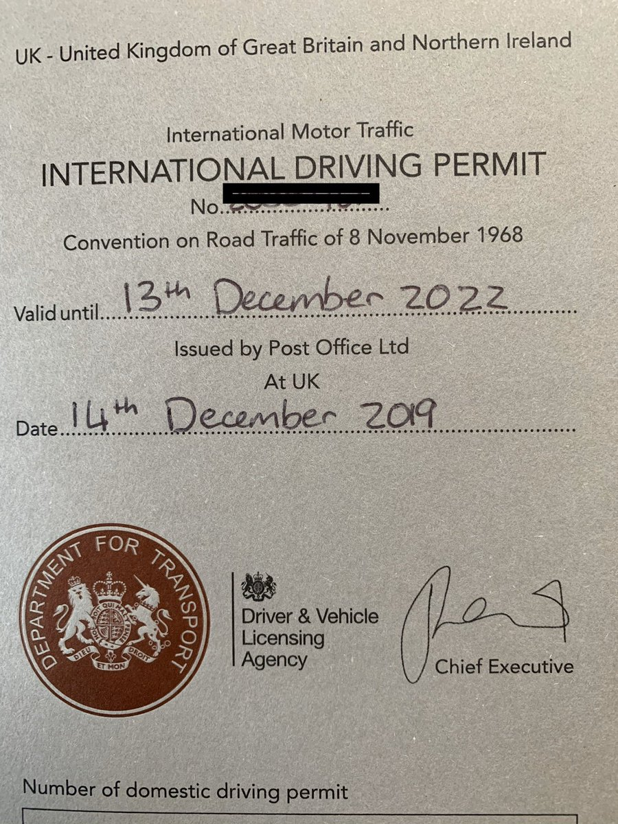 First job today international driving permit. Handwritten grey cardboard and #oldschool Pritt Stick for the photo. Welcome 1970<br>http://pic.twitter.com/UiH8aTYWLA