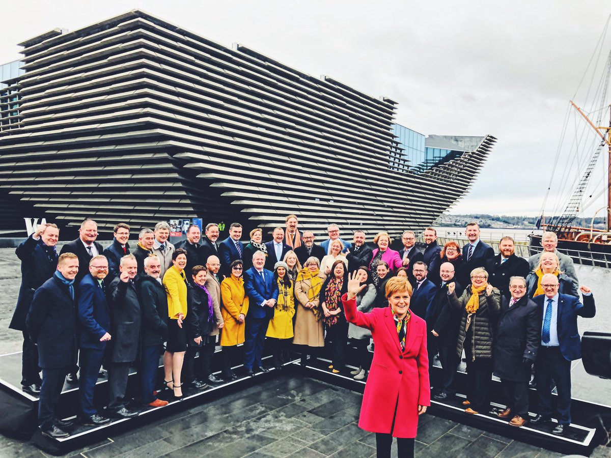 🏴 Morning from Dundee. #SNPwin #GE2019