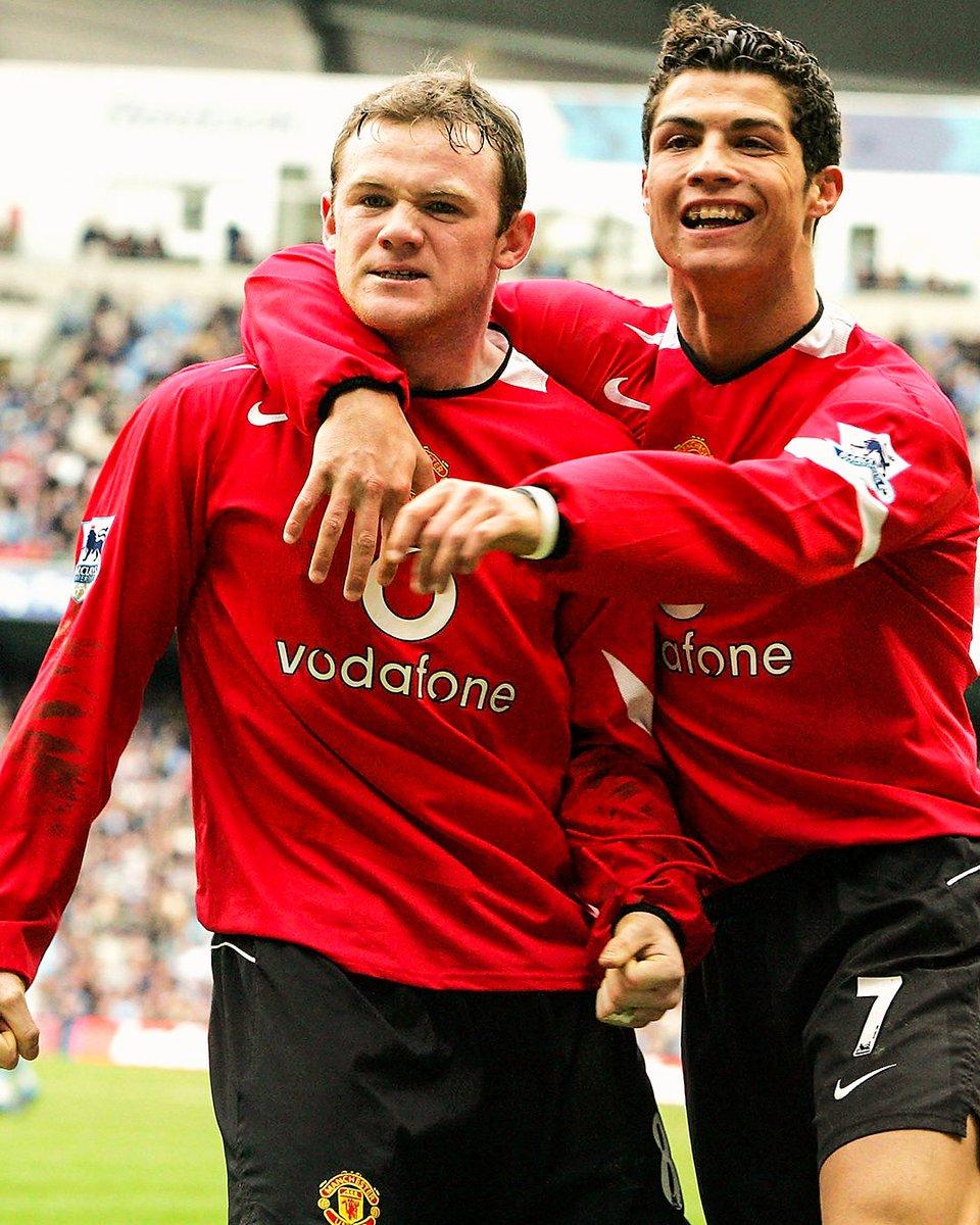 Rooney. Ronaldo. Bros. 🤝