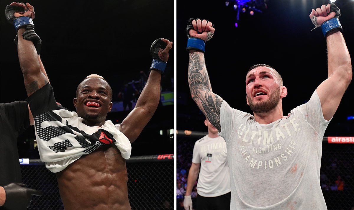 BREAKING NEWS: A Battle of Britain between Marc Diakiese and Stevie Ray is in the works for #UFCLondon, per multiple sources.  This lightweight bout has been brewing for a long time and is one UK fans have been wanting to see for some time now.  Expect fireworks, folks.  🏴 vs 🏴