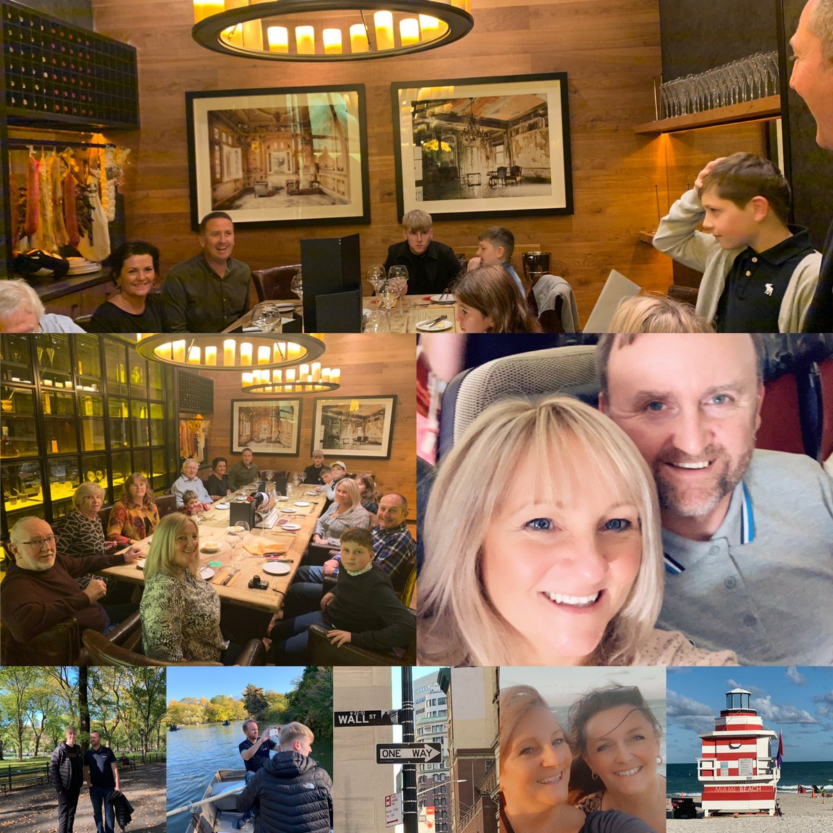 Wow #2019 what a year #family #friends #business #travel #newfriends #newplaces #Tenerife #majorca #cork #NewYork #40thbirthday #18thbirthday #JerseyCity #Miami #celebrations #50thbirthday #newoffice #milestones #drivingtests #engagements #parties #publications #awards #cheerspic.twitter.com/v1LKEz71rc