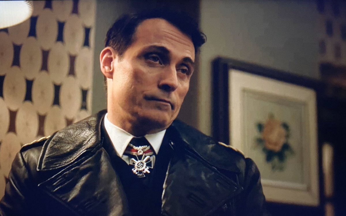 John's expression when Joe Blake starts whining. 😂 #NotImpressed #AreYouFinishedJoe  #HighCastle #ManInTheHighCastle