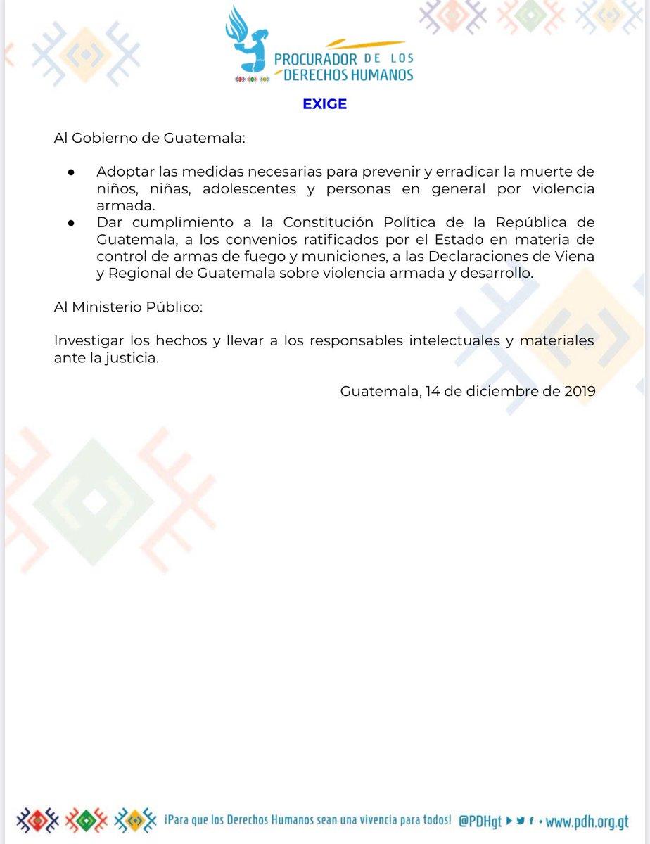 test Twitter Media - #AHORA El @PDHgt Jordán Rodas condena el asesinato de la niña Zoila Lucrecia Xec víctima de violencia armada en la zona 21 de la ciudad de Guatemala. https://t.co/UsyN49ThVV