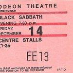 Image for the Tweet beginning: Dec 14, 1973 Odeon Theatre Ticket