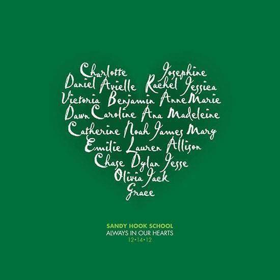Seven years ago, 26 people, including 20 innocent children, lost their lives in a senseless shooting. Never forget.#SandyHook