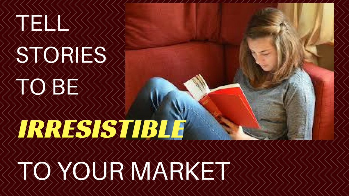 Why Tell Stories? — 3 Story Based Selling Secrets Make You Irresistible To Your Market and Grow Your Business! ~ https://www.davidndana.com/why-do-we-tell-stories-to-build-our-business/… #storytelling #contentmarketing