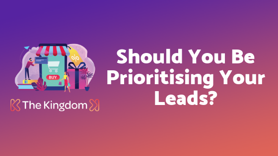 Should You Be Prioritising Your Leads? #hubspot #leads #marketing #contentmarketing #leadscoringhttp://bit.ly/2CgdMIc