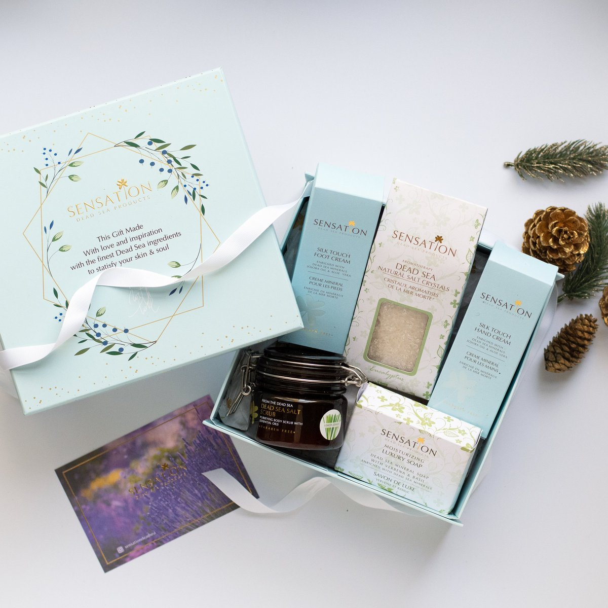 Customize the perfect Christmas gift box for your loved ones with Sensation! #sensationdeadsea #jordan #beauty #deadsea #deadseajordan #deadseasalt #deadseaspa #deadseaproducts #deadseaminerals #deadseasalts #christmasgifts #christmasgiftsideas #christmasgift #giftideaspic.twitter.com/up1cEzqdIA