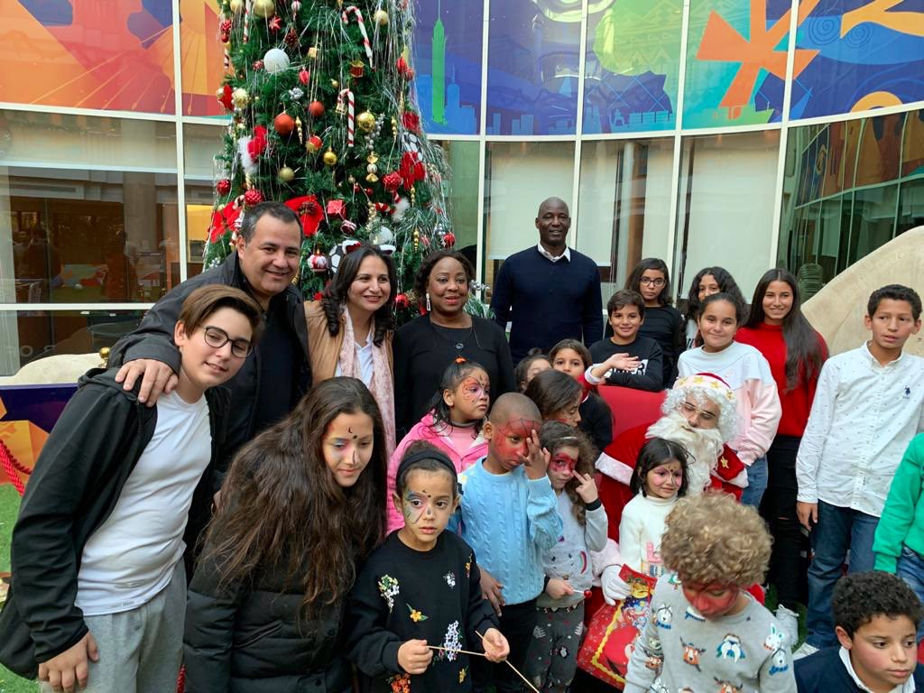 Today @CAF_Online 1st-ever event to mark 🎄 season took place. Family members big & small of @CAF_Online staff joined in the fun & festive atmosphere. Next staff gatherings will celebrate important events & occasions. Hope to see as many smiles @ those too. 🤗⚽️