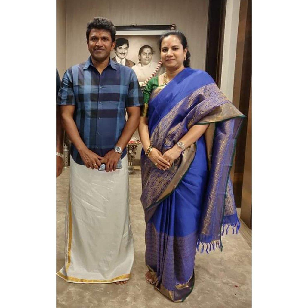 PowerFul Couple's ❤ #PowerStar #PuneethRajKumar #Appu #AshwiniPuneethRajkumar #PowerGroupsMysore