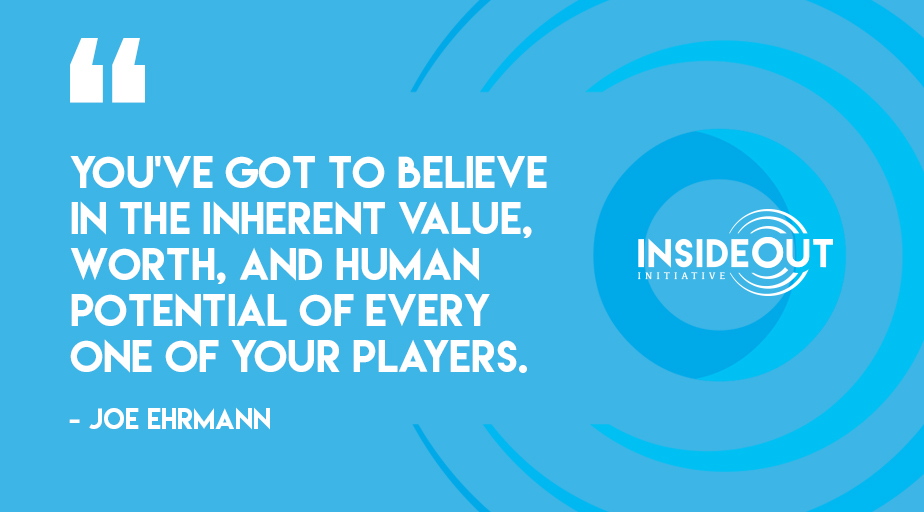 Purpose-based athletics build community and connect kids to caring adults. #InSideOutInitiative