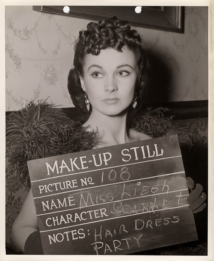 Tomorrow is the 80th anniversary of the premiere of Gone With The Wind! Here's some make-up stills of the beautiful Vivien Leigh as Scarlett O'Hara to celebrate. #GWTW80pic.twitter.com/EKOZGBwZI9