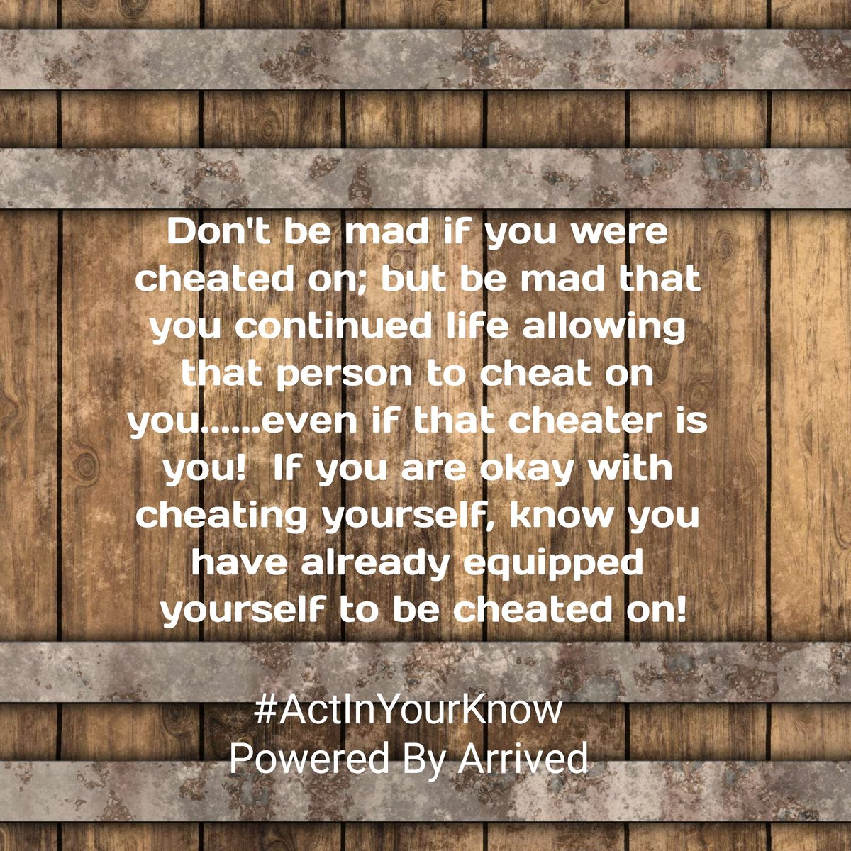#ActInYourKnow POWERED BY ARRIVED #knowledgeofself #knowledge #selflove #knowyourhistory #knowyourtone #knowyourworth #wisdom #knowledgeispower #knowthedifference #knowyourrights #knowyourstatus #knowthyself #truth #consciousness #knowbetterdobetter #knowhow #lifestyle #lifetipspic.twitter.com/CMPXexDZwI
