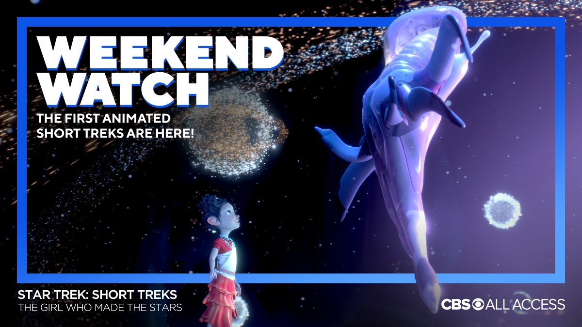 """Your weekend plans are set! Here's what you should watch on #CBSAllAccess: ✅ Both @StarTrekCBS: #ShortTreks animated stories: """"Ephraim and Dot"""" & """"The Girl Who Made the Stars"""" ✅ The series finale of @MadamSecretary ✅ The mid-season finale of @Evil ✅ The holiday-themed @MomCBS"""