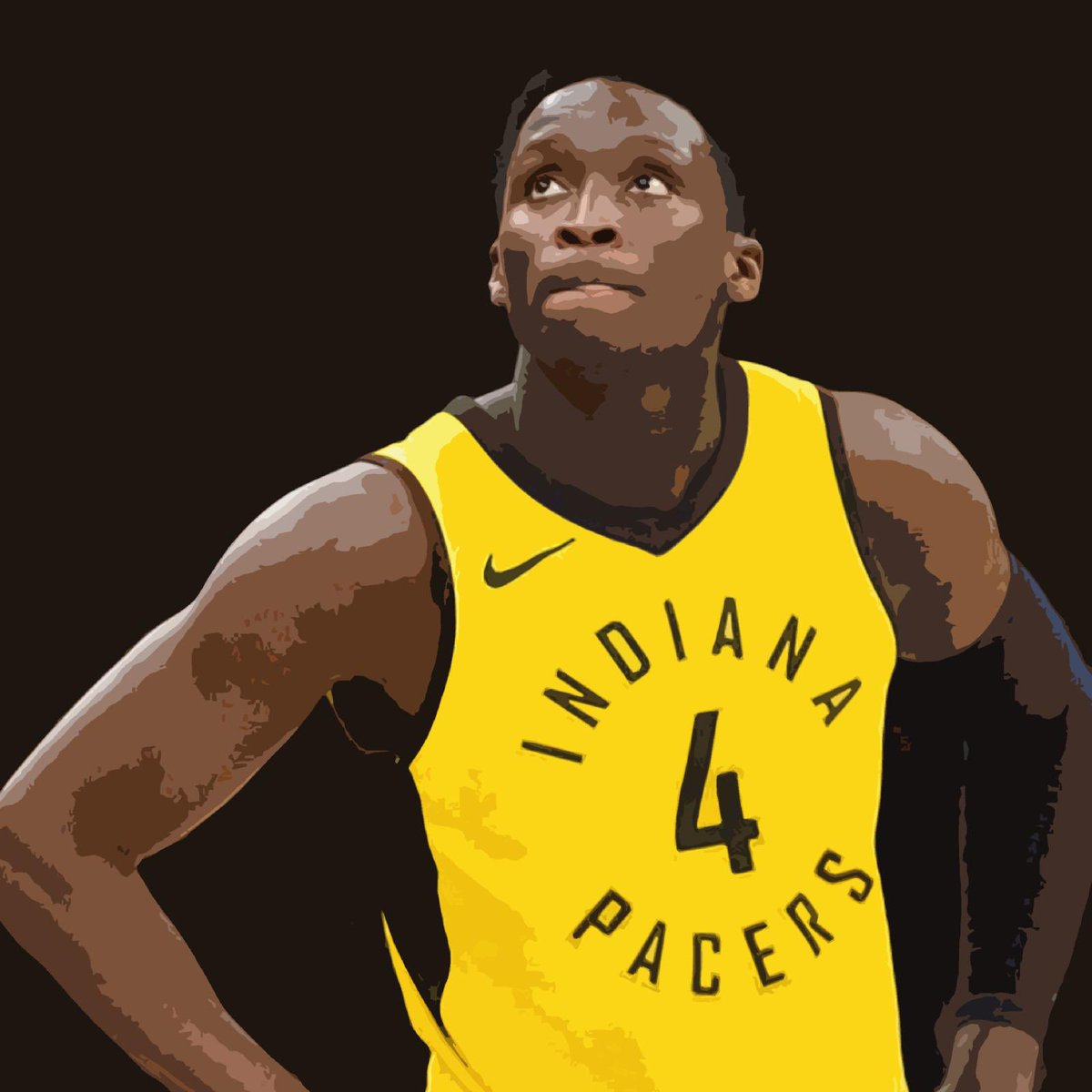 The Pacers are doing it in #IndianaStyle 😎  With a win last night against the Hawks, Indiana took their record to 17-9 👏  This has all been without star player Victor Oladipo, when he's back in the mix, are the Pacers a home court lock? 🏡   #NBATwitter   #NBA #Oladipo #Sabonis