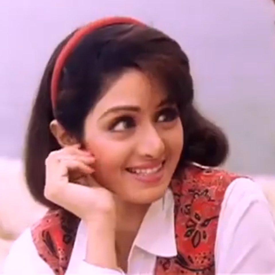 That smile - @SrideviBKapoor #Sridevi  #SrideviLivesForever  #SrideviIsImmortal