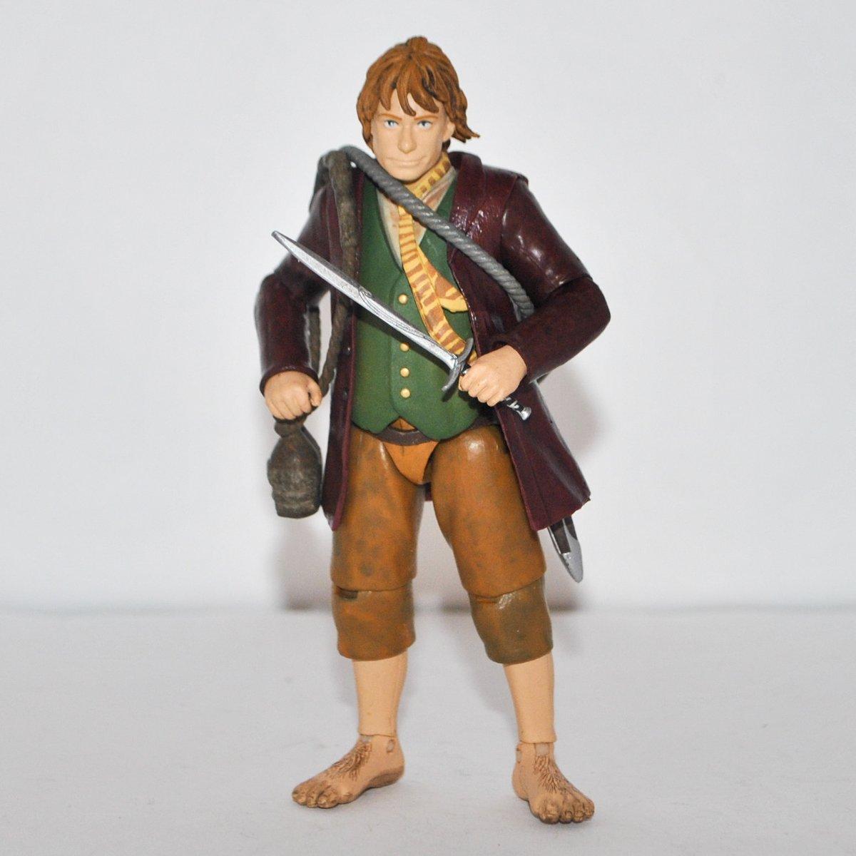 """Bridge Direct Hobbit An Unexpected Journey Bilbo Baggins 4.5/"""" Figure"""