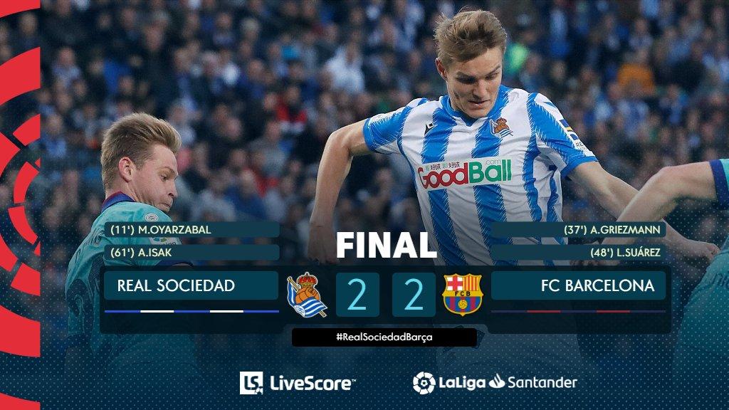 Real Sociedad-FC Barcelone