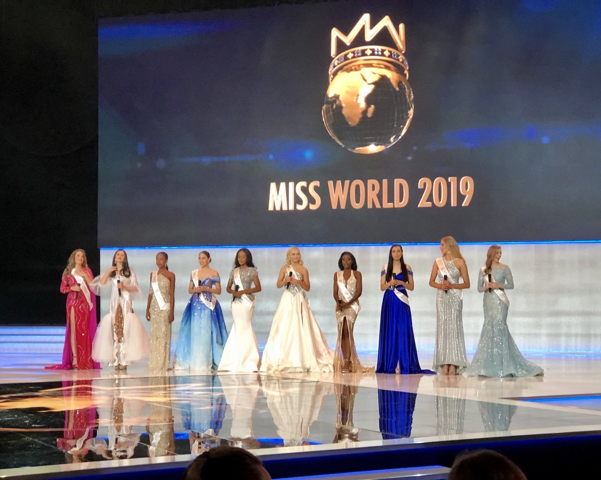 ✪✪✪ MISS WORLD 2019 - COVERAGE ✪✪✪ - Page 25 ELwxbp4X0AYkTCF