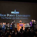 Yesterday, HPU celebrated its newest doctoral, masters and bachelors degree graduates with a December Commencement Ceremony. Congratulations, graduates! 🎓💜 #HPUGrad2019