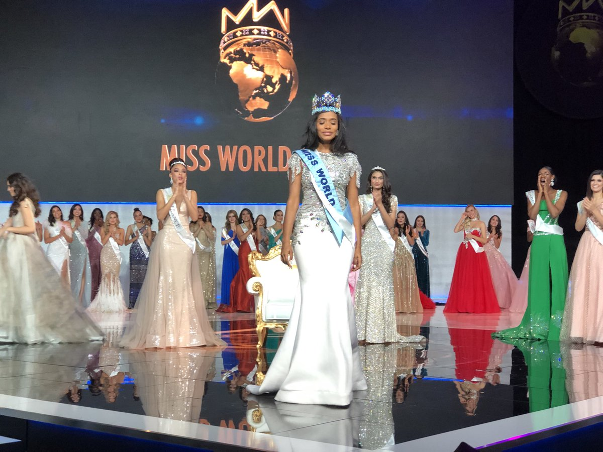 Official Thread of Miss World 2019 ® Toni-Ann Singh - JAMAICA ELwztZhWoAE8jeS