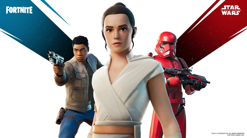 Fortnite gets lightsabers, courtesy of 'Star Wars: The Rise of Skywalker' promo by @bheater