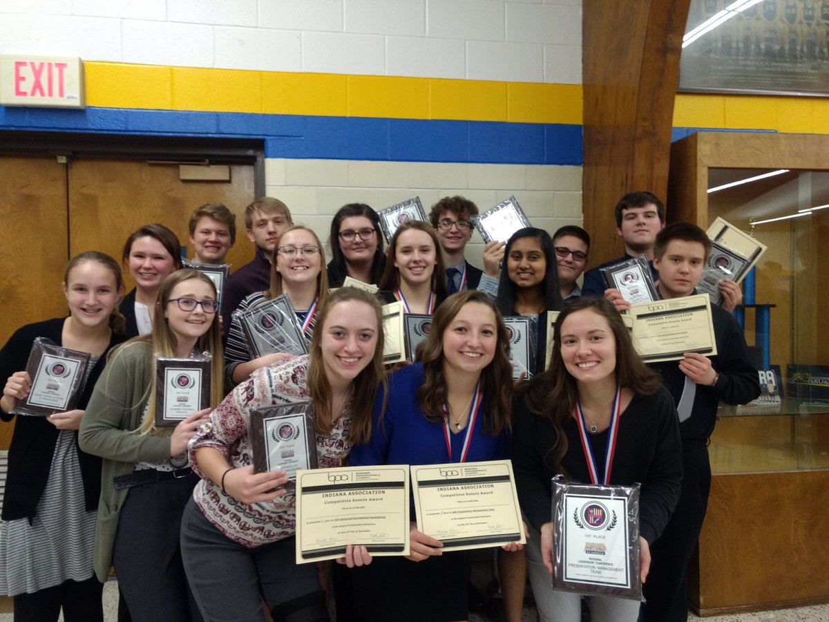 Twenty-five competed, 25 on stage, 24 headed to state. Way to go Vikings! I'm so proud.#bpa