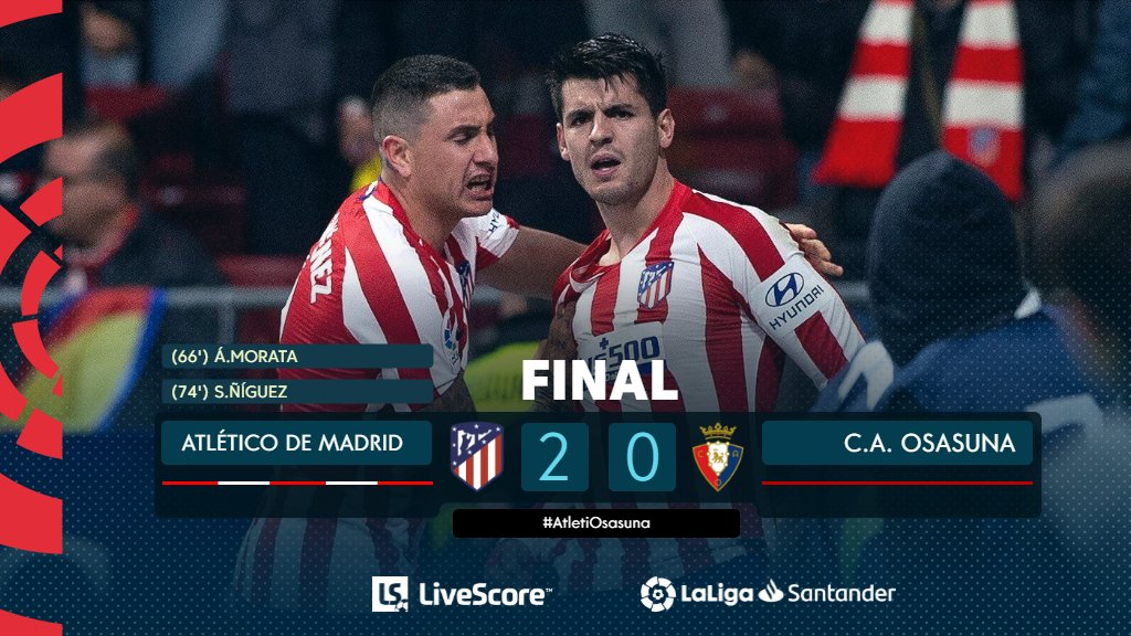 Atletico Madrid-Osasuna