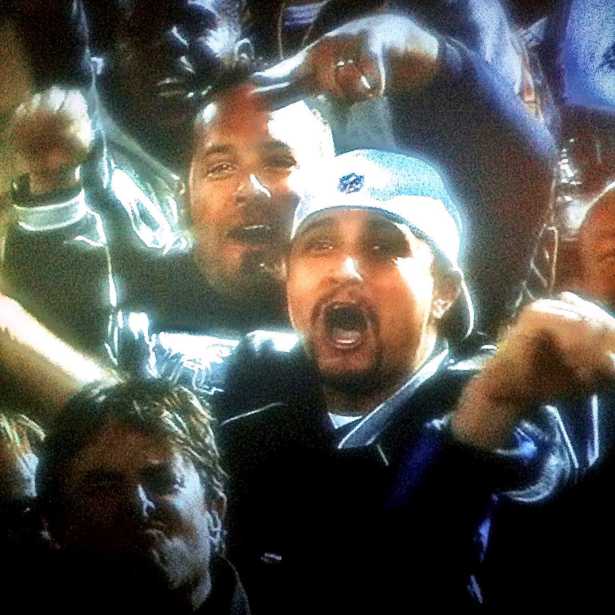 That time in 2012 when the camera cut to my fam turning up on #MNF 🙌🏽 #RaiderNation