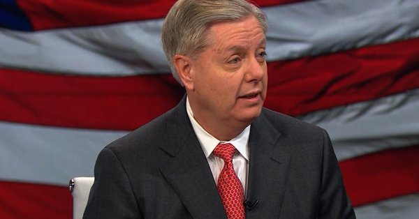 """""""I'm not trying to pretend to be a fair juror here"""": Republican Sen. Lindsey Graham predicts Trump impeachment will """"die quickly"""" in the Senate https://cnn.it/34pizTj"""