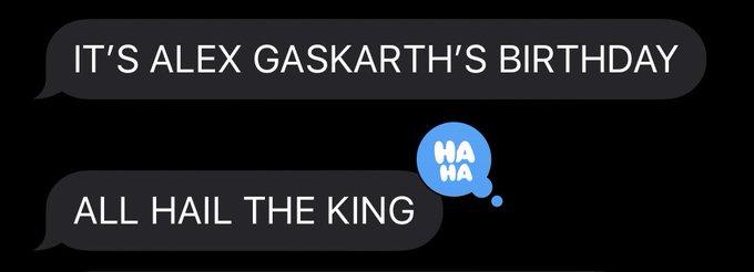Happy birthday Alex gaskarth
