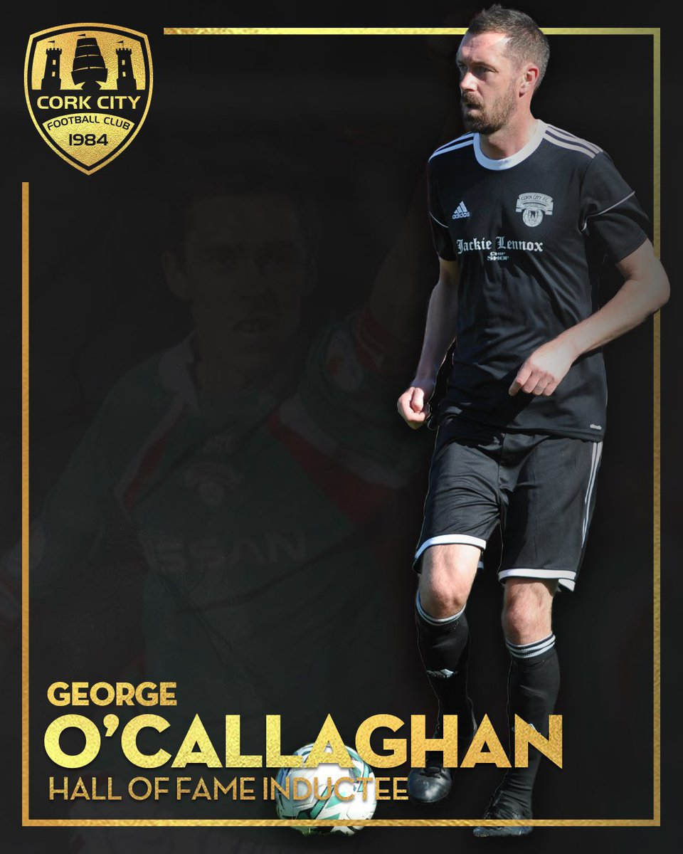 G🔟  George O'Callaghan is officially inducted to the Hall of Fame!   #CCFC84 #G10